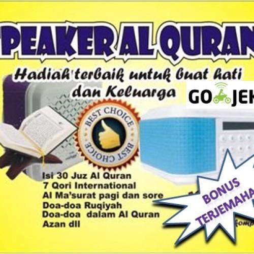 Foto Produk Speaker Al quran / Speaker Alquran paling lengkap bonus terjemahan dari azzamkomputer1
