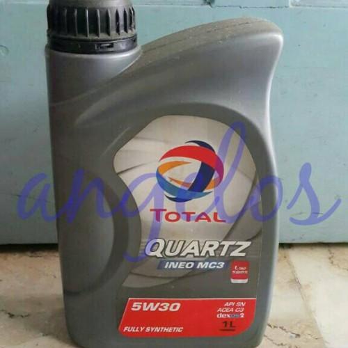 Foto Produk Oli Total Quartz INEO MC3 5W-30 Full Synthetic API SN Low SAPS Dexos 2 dari angelos