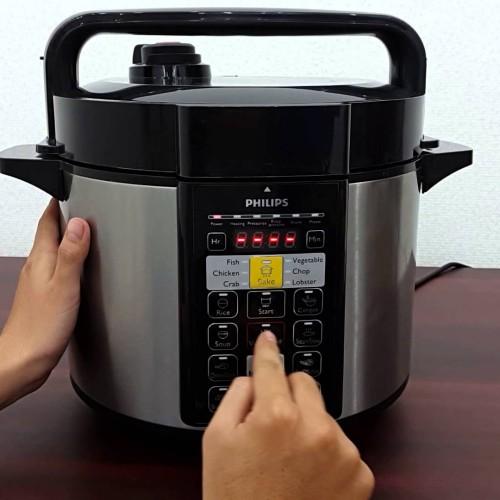 Foto Produk Rice Cooker Philips / Presto Electric Pressure Cooker Philips HD 2136 dari Damian's Kitchen