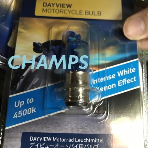 Foto Produk Bohlam Depan Hella 4500K Bohlam Halogen Motor Matic Bebek Kaki 1 H6 M5 dari Champs