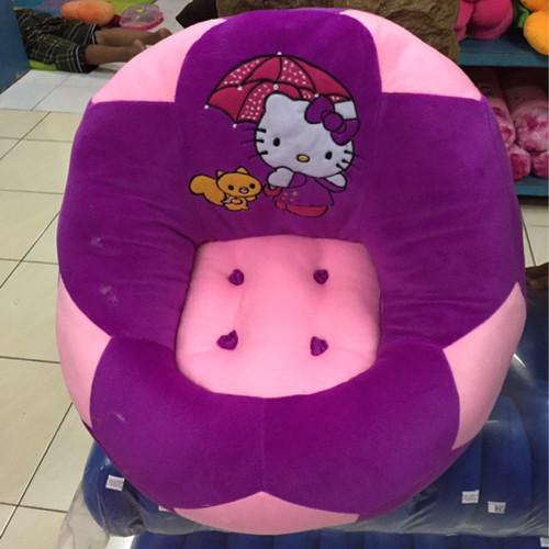 Foto Produk Sofa Duduk Hello Kitty Model Bola Cute dari Snackers Co