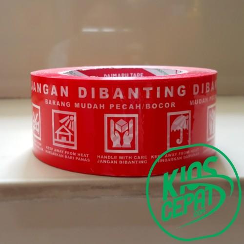Foto Produk Lakban DAIMARU JANGAN DIBANTING (48mm x 100M) dari KiosCepat