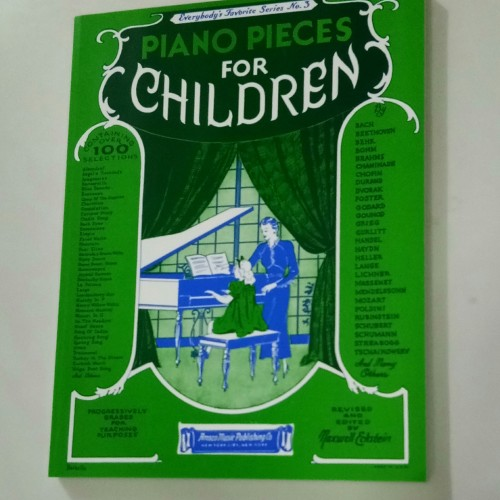 Foto Produk Buku Piano Pieces for Children dari Kreisler Shop