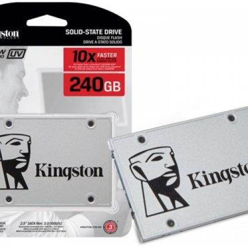 Foto Produk Harddisk SSD Kingston SSDNow UV400 240GB Internal SATA III dari Adwashashop