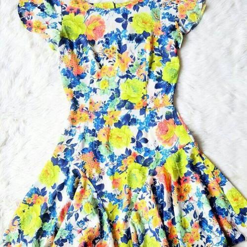 Foto Produk Cute Floral Dress dari Glory888