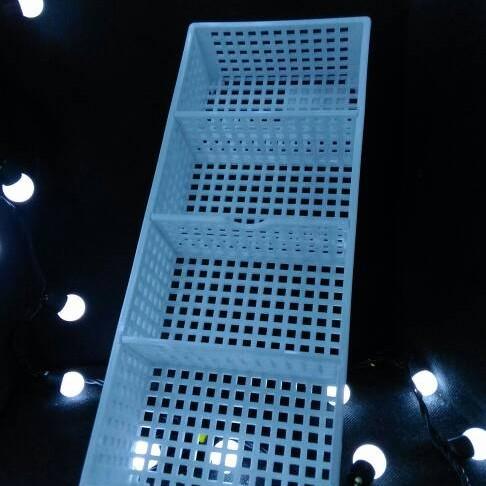 Foto Produk Keranjang Plastik Organizer dg Sekat uk. 29 x 12 x 5cm dari KlinikRobot