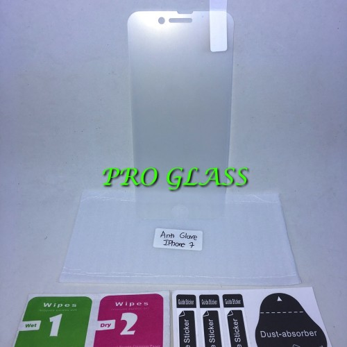 Foto Produk Iphone 7 / 8 Anti GLARE / DOFF / Anti Fingerprint Tempered Glass dari Pro Glass
