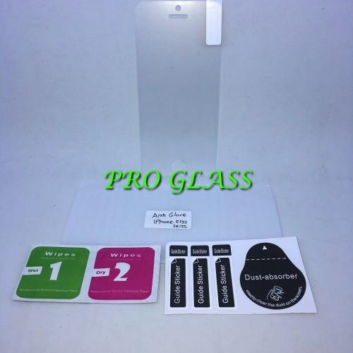 Foto Produk Iphone 5 / 5s / 5c/ se Anti Glare / Anti Fingerprint Tempered Glass dari Pro Glass