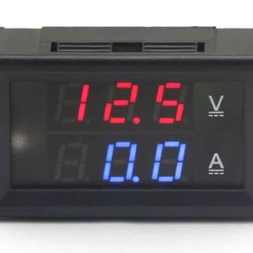 Foto Produk DC 10A 3.5-30V DC Dual Voltmeter Ammeter dari lapakdiskon
