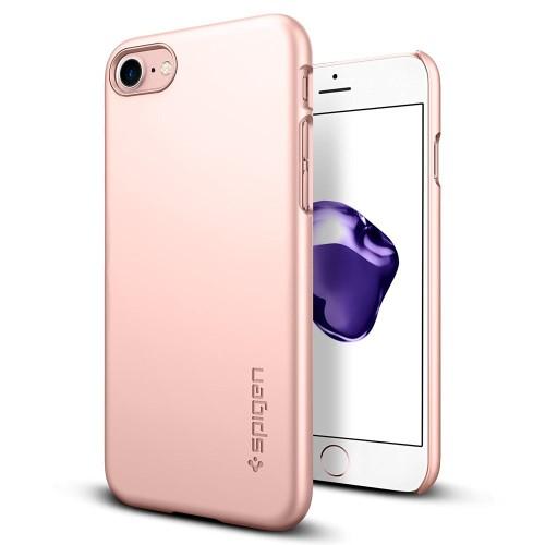 Foto Produk Spigen iPhone 7 Case Thin Fit - Rose Gold dari Get Widd