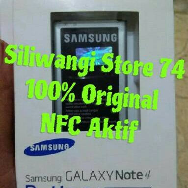 Foto Produk Original 100% Battery Baterai Batre Batere Samsung Galaxy Note 4 Note4 dari siliwangi store 74