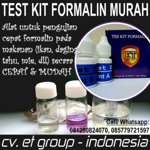 Foto Produk Test Kit Formalin dari easytest
