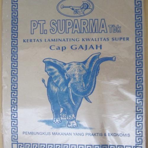 Foto Produk JUAL kertas nasi ukuran tanggung / kertas coklat (250lbr) dari Mandiri Plastik