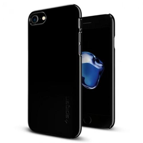 Foto Produk SPIGEN IPHONE 7 CASE THIN FIT JET BLACK dari Alpha Mulia