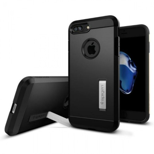 Foto Produk SPIGEN IPHONE 7 PLUS CASE TOUGH ARMOR BLACK dari Alpha Mulia