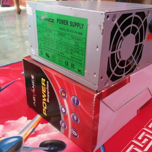 Foto Produk Power Supply Advance 450 Watt dari samudracomp
