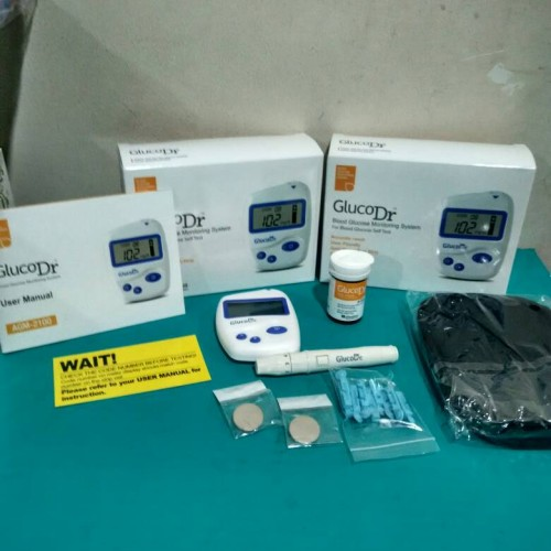 Foto Produk Alat Tes Gula Darah GlucoDr dari Vintaco