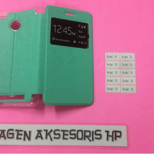 Foto Produk Flipcover Redmi 3 Pro Xiaomi Redmi 3S 5 inchi Sarung Buku Flip Case NP dari Agen Aksesoris Hp