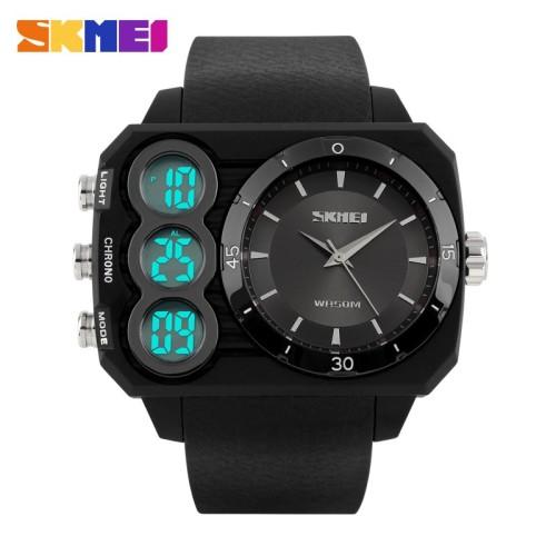 Foto Produk Jam Tangan Pria / SKMEI / 1090 / S-Shock / Dual TIme / Berkualitas dari Watch Me Collection