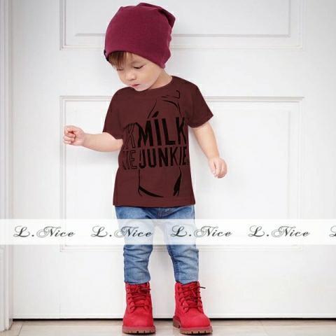 Foto Produk Baju Setelan Anak Jeans Import Nice Milk Set Murah dari Tika Sarianda
