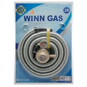 Foto Produk WINN GAS Regulator dan Selang Kompor Gas 1,8 meter dari HokiTiam