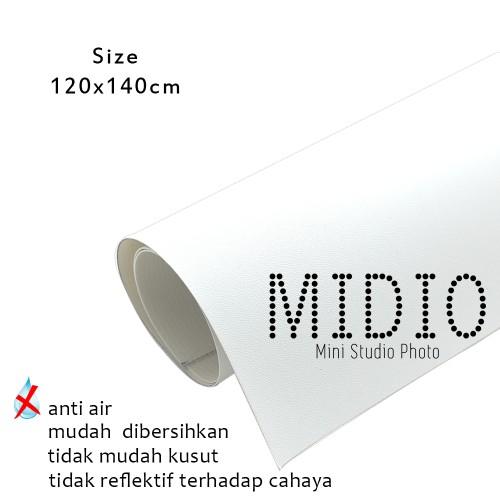 Foto Produk Midio Mini Photo Studio Background Putih 120x140cm dari Midio