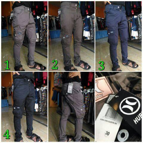 Foto Produk celana cargo panjang dari Qiting fashion
