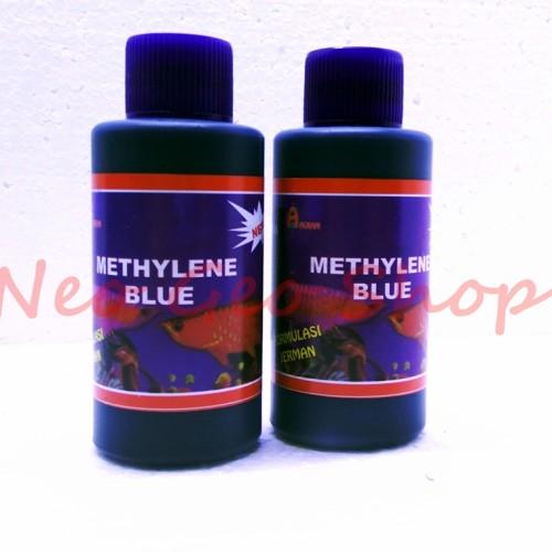 Foto Produk methylene methyline blue obat penyakit ikan sakit white spot dari neo geo shop