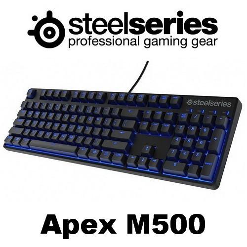 Foto Produk Steelseries Apex M500 Red Switch Mechanical Gaming Keyboard dari GamingAcc