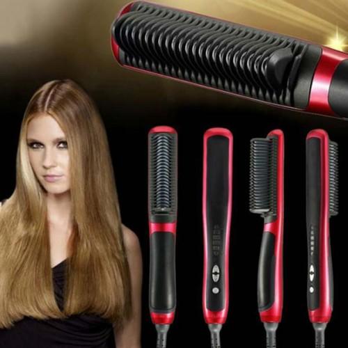 Foto Produk [ASL908] Catok Sisir Pelurus Rambut NEW Fast Hair Straightener ASL-908 dari Babe Mart