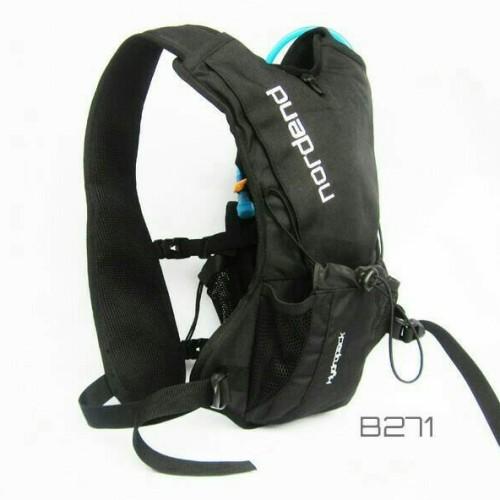 Foto Produk Tas Sepeda. Tas Gowes. Tas Outdoor Hydropack Black Nordend B271 Hitam dari Abet's Bike