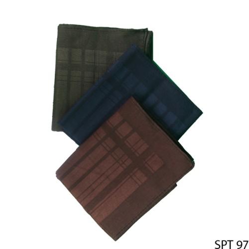 Foto Produk Sapu Tangan Pria Rapih Katun Multi Colour SPT 97 dari Gudang Fashion