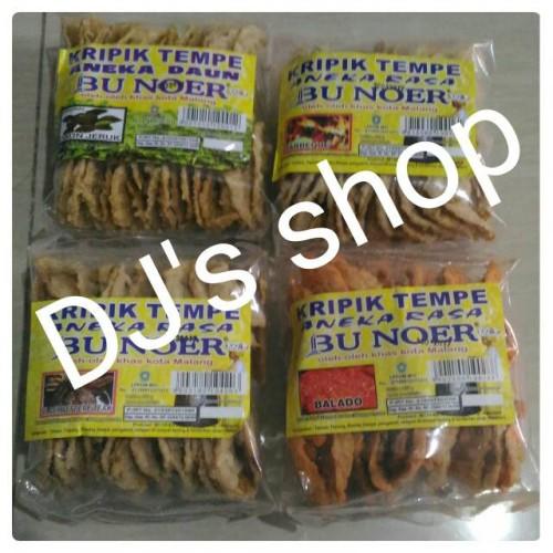 Foto Produk keripik tempe Bu Noer 150 gr khas kota malang - jagung bakar dari DJ's shop online