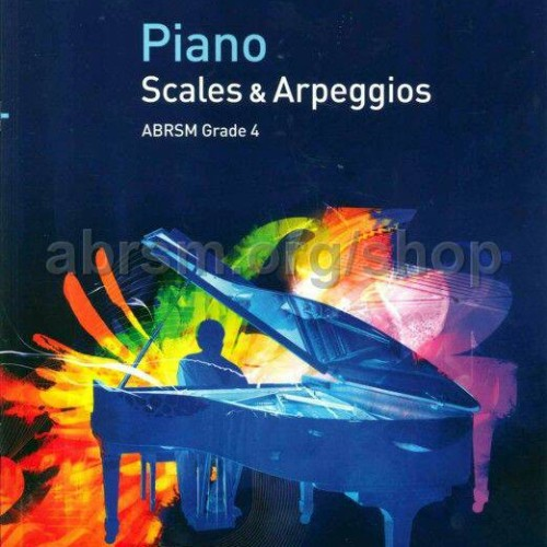 Foto Produk ABRSM Piano Scales & Arpeggios Grade 4 dari WoodenBox