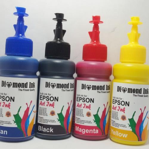 Foto Produk Paket Tinta Art Paper Epson Diamond Ink Grade A Korea dari Multi Solution