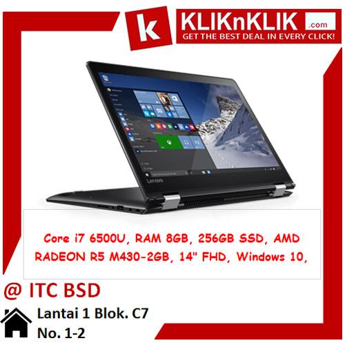 Foto Produk LENOVO Flex 4-14-6500U-8GB-256GB Black 29032 dari Klik N Klik BSD