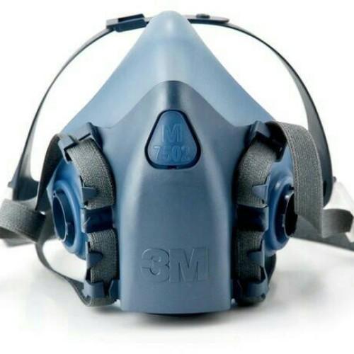 Foto Produk 3M Half Facepiece Reusable Respirator 7502/37082 (AAD) Medium dari sugihutamasafety