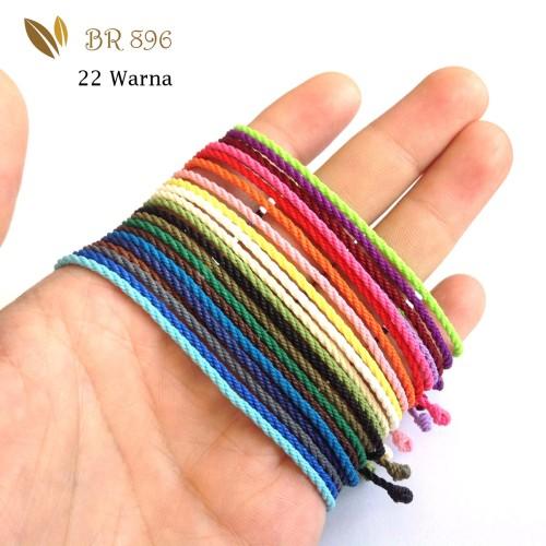 Foto Produk Gelang Tali 22 Pilihan Warna, Tali Waterproof, Tali Tahan Air, BR 896 dari Passion