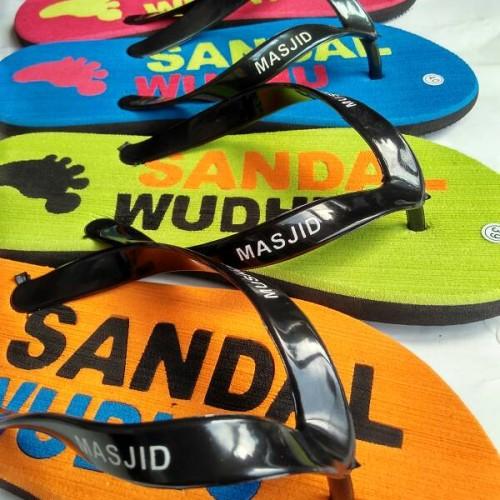 Foto Produk sandal wudhu masjid mushola model cutting press dari sandal masjid mushola