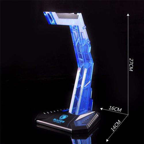 Foto Produk BEST SELLER! Sades Headset Stand / Craddle dari Meiji Tech PC