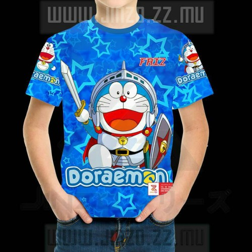 Foto Produk Kaos Anak Doraemon 3 dengan nama dari Jinzo Series