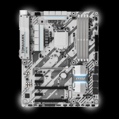 Foto Produk MSI H270 TOMAHAWK ARCTIC dari H454N Comp