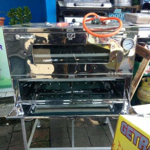 Foto Produk oven gas murah 90x55 + termometer via ekpedisi dari majdi syarif