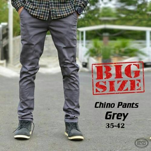 Foto Produk celana cinos panjang big size/celana cinos pria dari playjeans