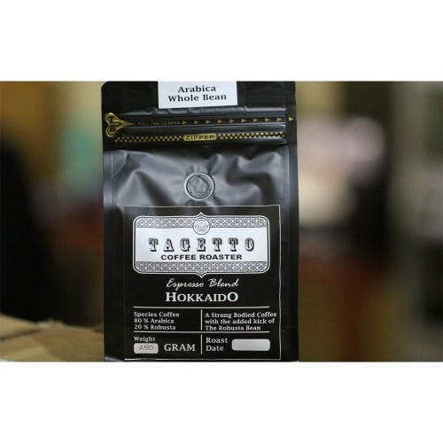 Foto Produk Espresso Hokkaido 250GR Tagetto Coffee Blend 80% Arabica 20% Robusta - BIJI KOPI dari TAGETTO COFFEE