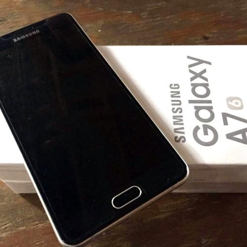 Foto Produk [SECOND] Samsung Galaxy A7 2016 GOLD Garansi Resmi Sein dari rialkmn