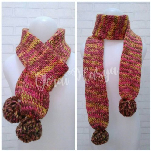 Foto Produk syal scarf shawl rajut anak dari Gerai Hasya