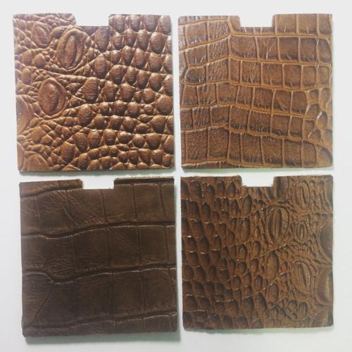 Foto Produk leather replacement kulit therion sapi motif Buaya dari ALdis Leather