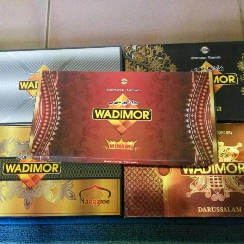 Foto Produk Sarung Wadimor Murah Motif NANGRO, HORISON, DARUSSALAM, CITRA dari toko kembar herbal