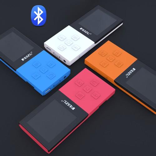 Foto Produk ORIGINAL RUIZU X18 Bluetooth 8GB Memory MP3 Digital Player - Hitam dari Hokky Dokky